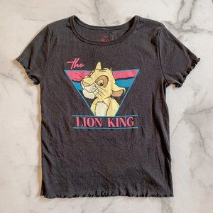 Tops - NEW Lion King retro cropped graphic t-shirt Large